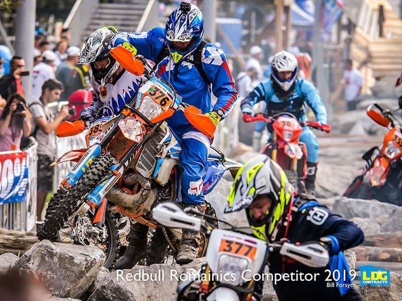 Bill Forsyth, took part in Redbull Romaniacs Competition